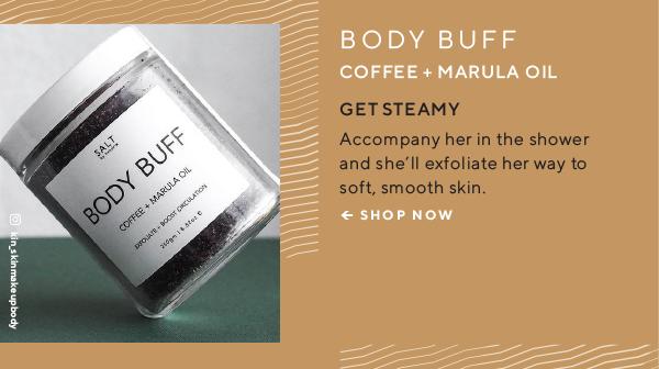 Body Buff - Coffee + Marula Oil