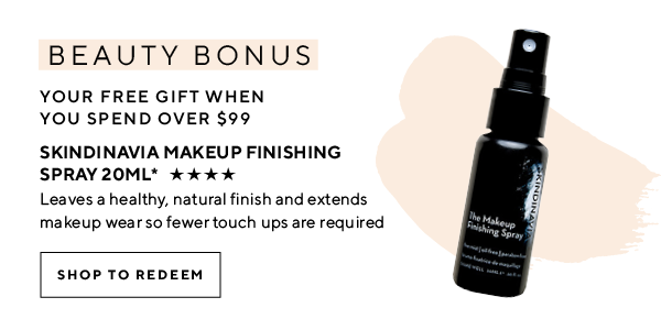 Your beauty bonus gift when you spend over $99